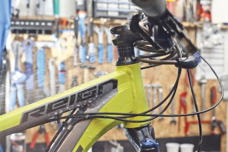 Odzračivanje kočnica na biciklu slika 22